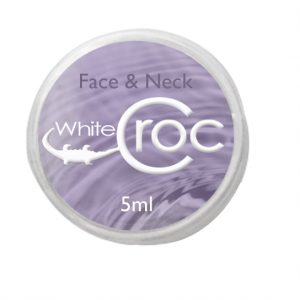 white croc try me face cream